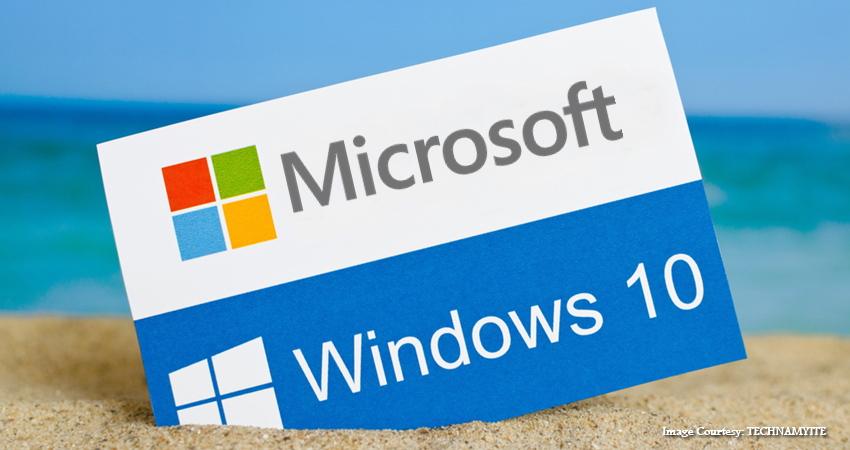 Updating Microsoft Windows 10, with Redstone 6