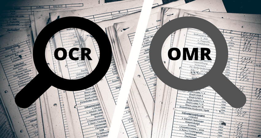 OCR vs. OMR: Comparing the Two Data Recognition Technologies