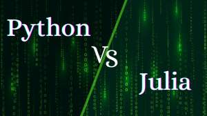 Comparison between Python and Julia